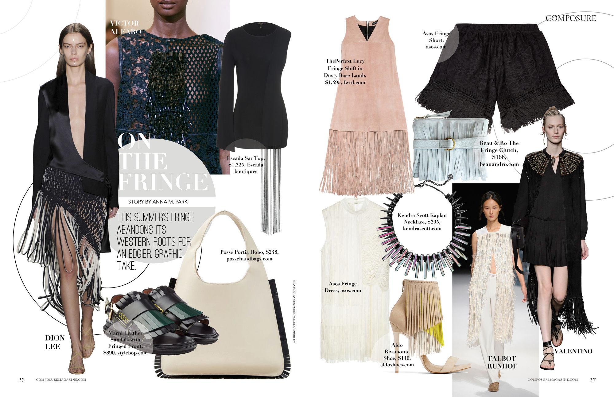 Fashion Magazine Layout Images