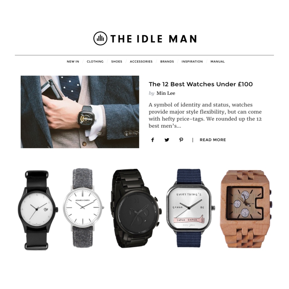 fashion-writer-the-idle-man-mens-best-watches-under-100